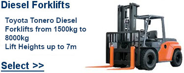 Select Toyota Diesel Forklifts