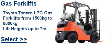 Select Toyota Gas Forklifts